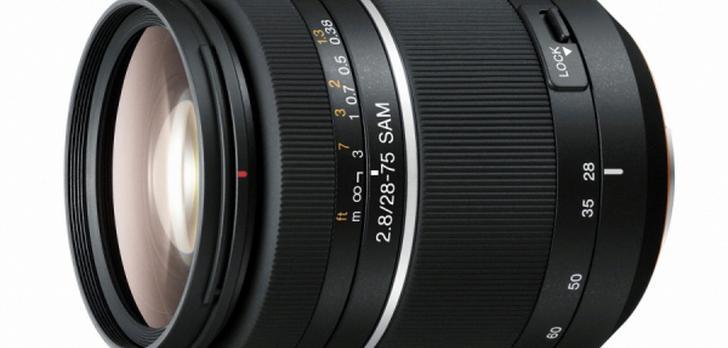 Sony SAL-2875 nowy obiektyw