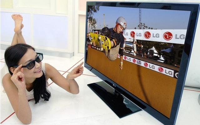 LG prezentuje telewizor cinema 3D i technologię kina domowego 3D