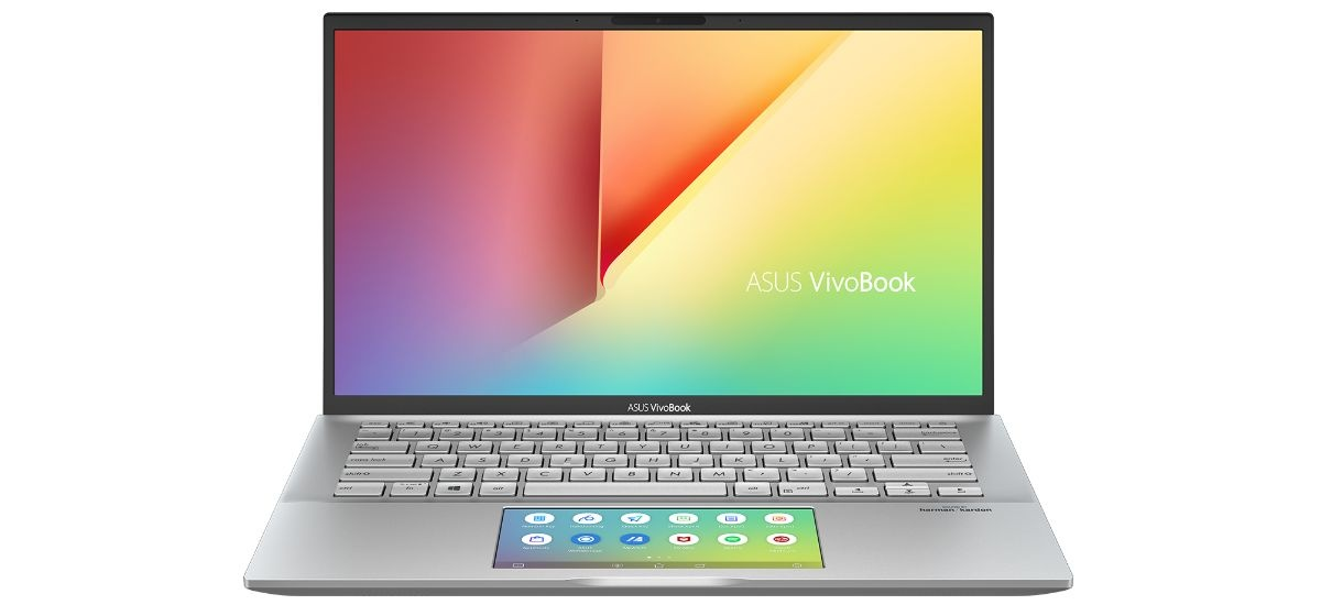 ASUSVivoBook S14 S432 - laptop z ekranem w gładziku