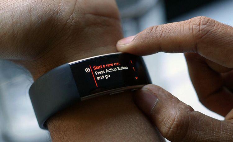 smartband tryb dla biegacza