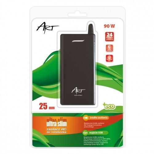 ART Zasilacz AC 19V 4,74A wtyk 5.5x2.5mm slim