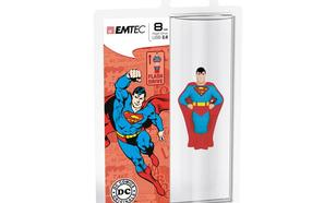 EMTEC USB Drive 8GB Super Heroes SUPERMAN