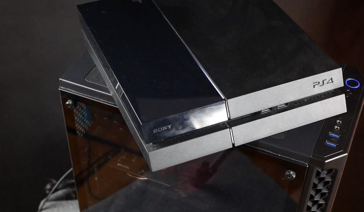 Sony Playstation 4 na komputerze Actiny