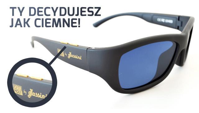 Glassini - okulary z wielostopniowym przyciemnieniem