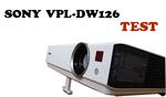 Sony VPL-DW126 test projektora