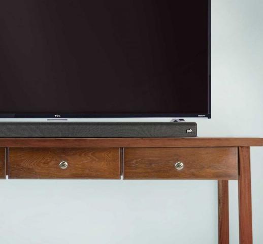 Polk Audio Signa S1 pod telewizorem