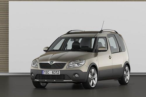 Skoda Roomster Scout Van 1,6TDI CR DPF (90KM) M5 5d