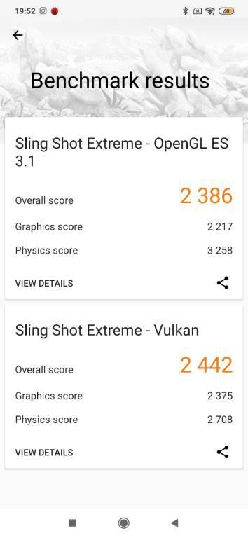 Redmi Note 8 Pro w 3D Mark