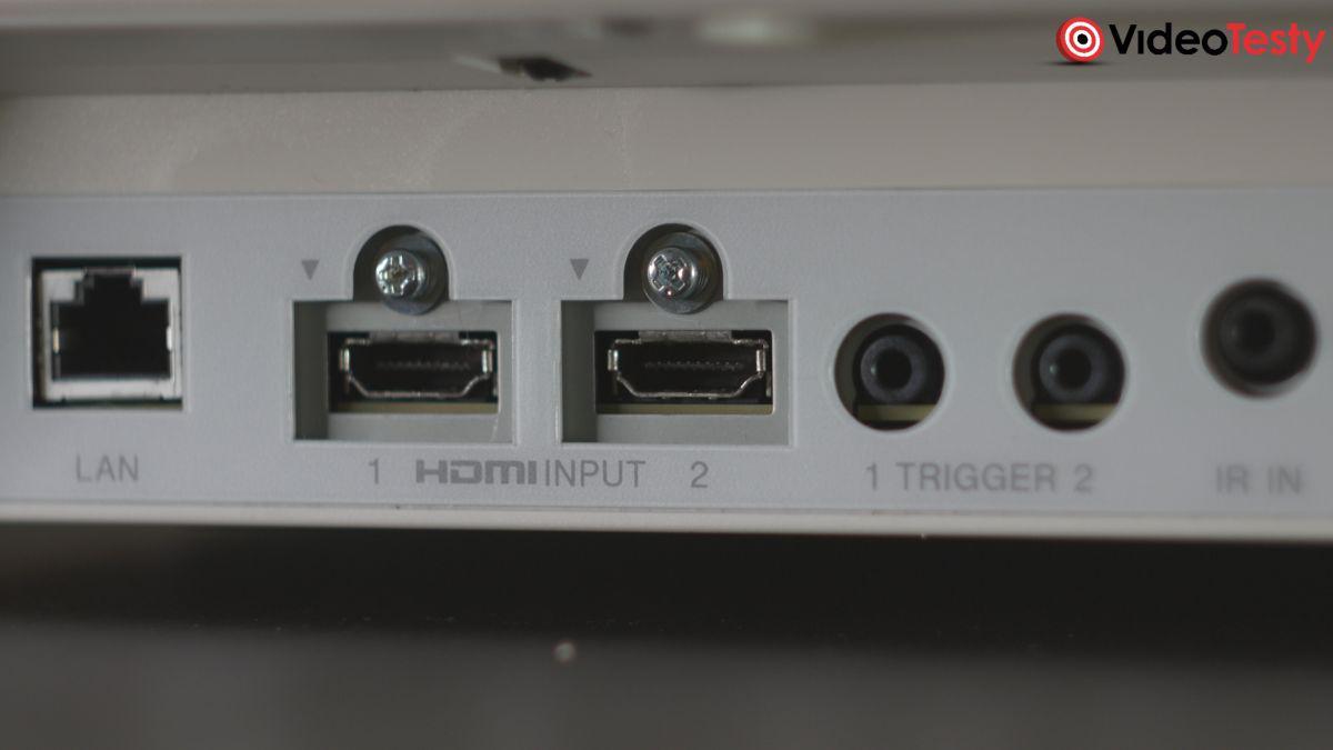 Sony VPL-VW570ES wszystkie złącza