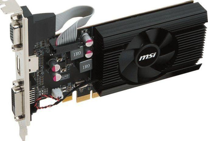 MSI Radeon R7 240 1GD3 LP, 1GB DDR3, 64-bit, VGA, DVI, HDMI (R7 240