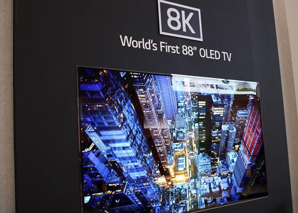 Pierwszy Telewizor OLED 8K zaprezentowany na IFA 2018
