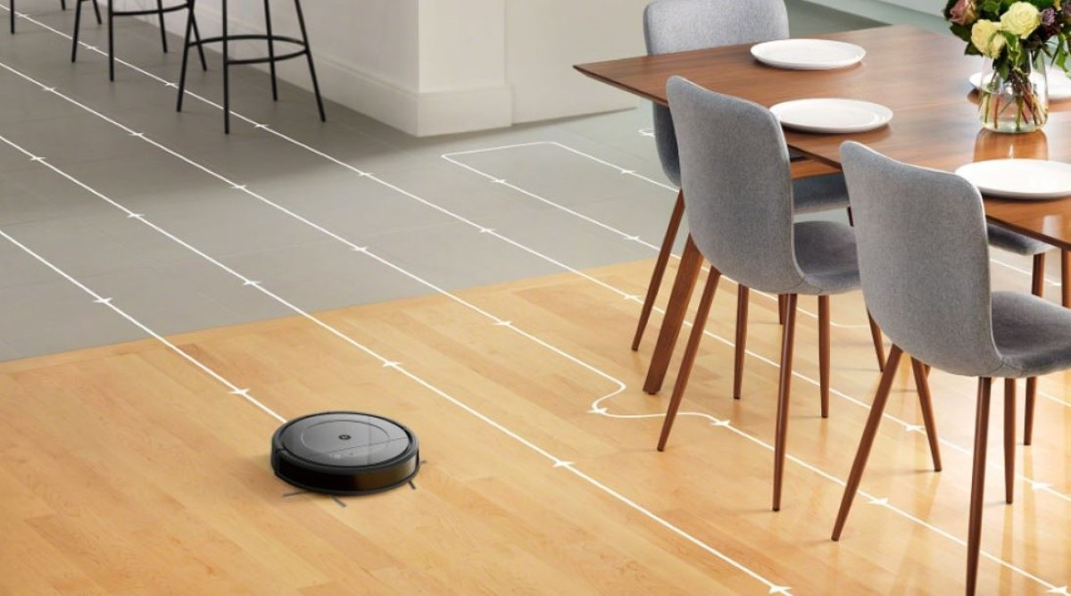 Roomba Combo na panelach