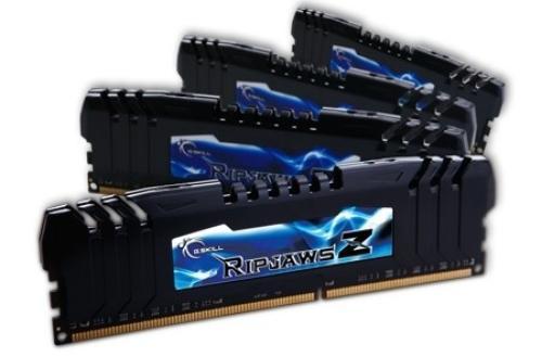 G.SKILL DDR3 32GB (4x8GB) RipjawsZ 2400MHz CL10 + Turbulence XMP