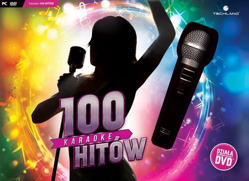 Techland Karaoke 100 Hitów + Mikrofon - PC / DVD