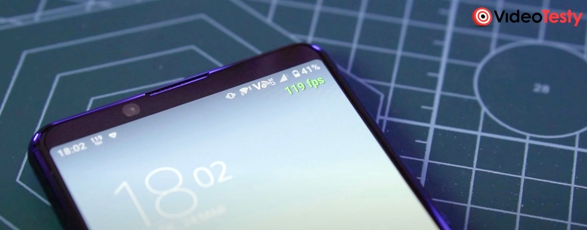 120 Hz w smartfonie jest utrzymywane niemal zawsze