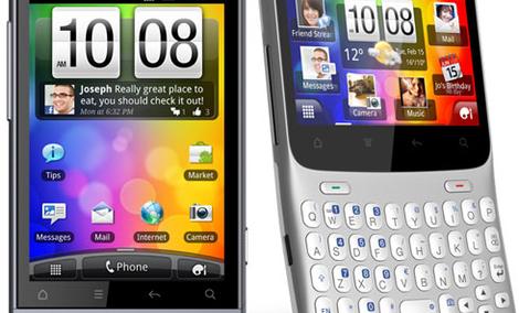HTC Cha Cha i HTC Salsa