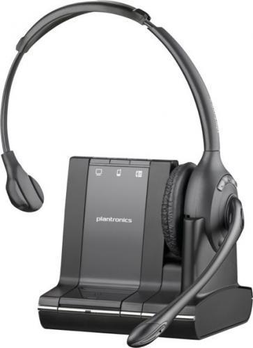 Plantronics Savi W710 oraz elektroniczny podnośnik słuchawki APS11