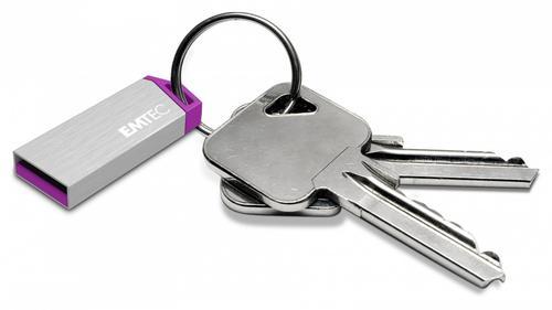 EMTEC Pendrive 4GB ALU mini S210S Silver