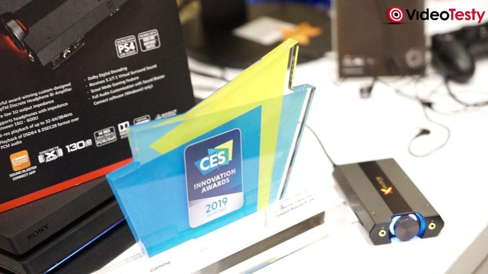 Creative SoundBlasterX G6 - nagroda CES 2019