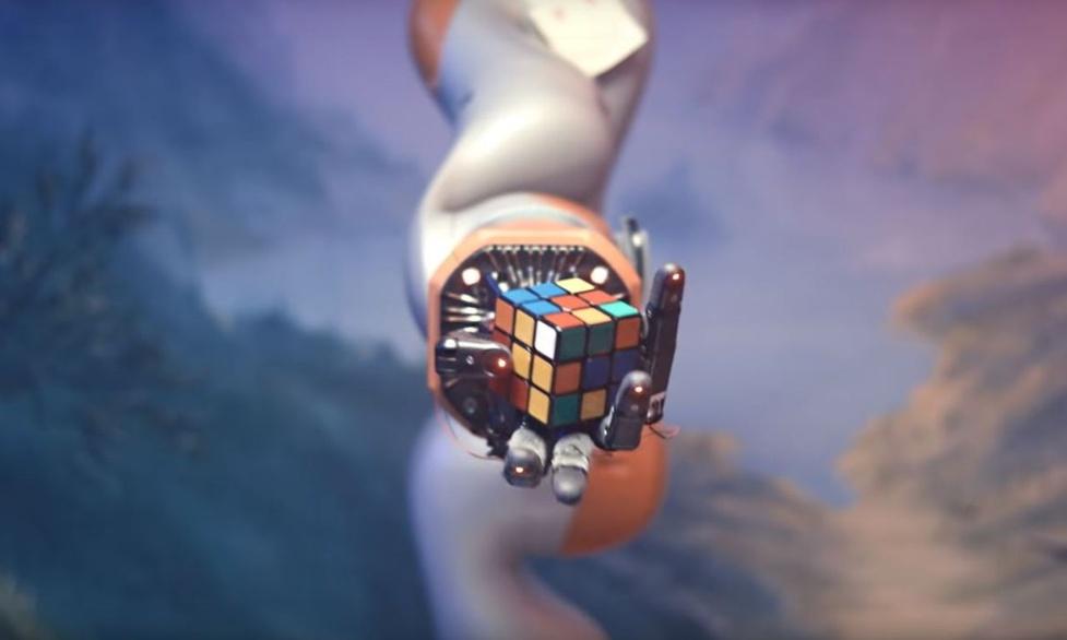 Robot złożył Kostkę Rubika