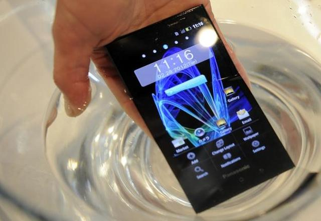 Panasonic Eluga - wodoodporny, super cienki smartfon