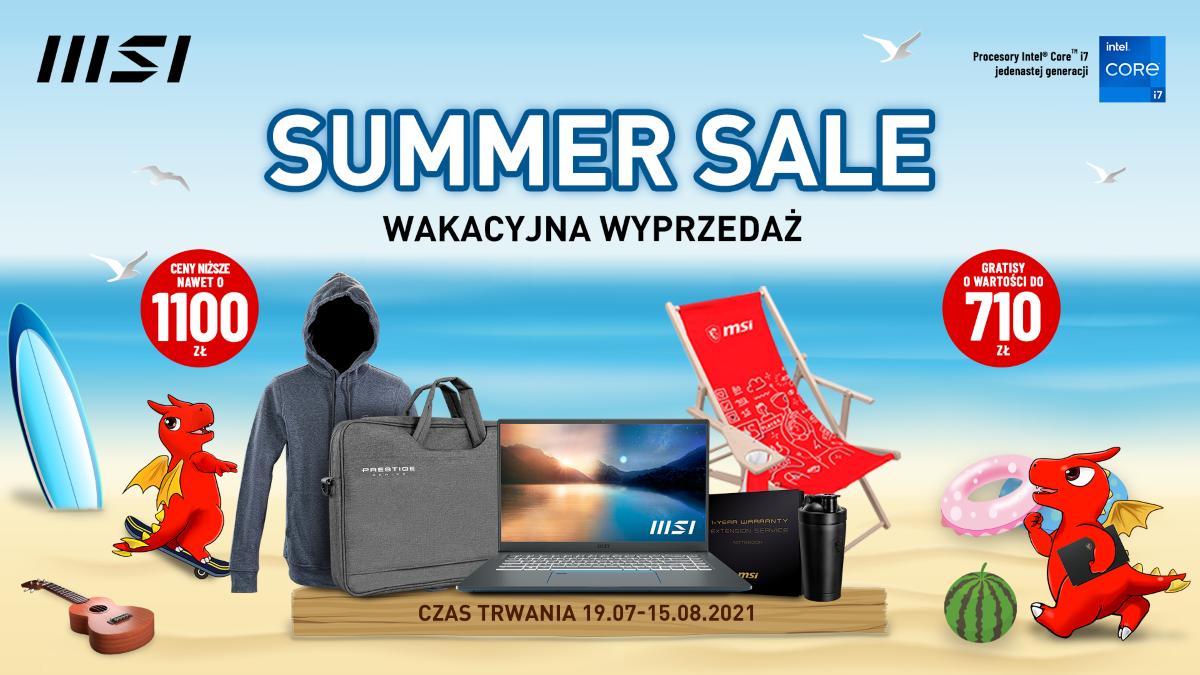 MSI wyprzedaż Summer Sale