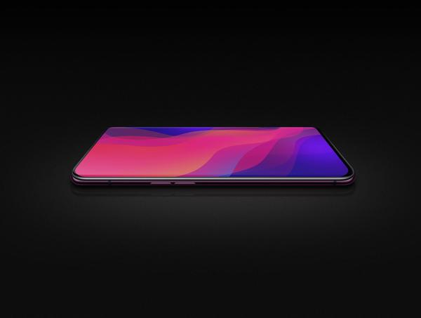 Oppo Find X front
