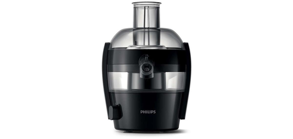 niewielka sokowirówka firmy Philips