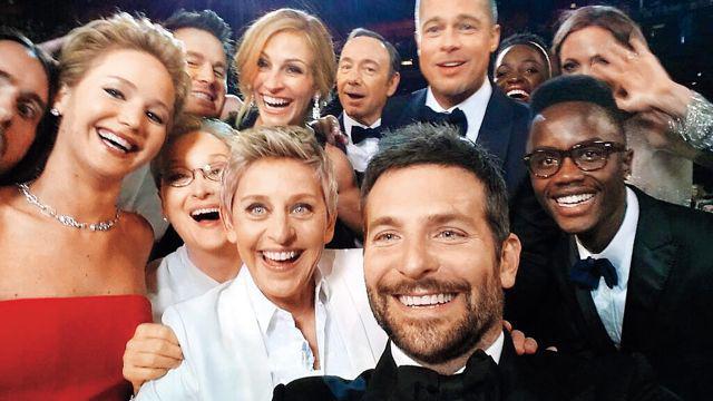 Kultowe selfie z gali rozdania Oscarów