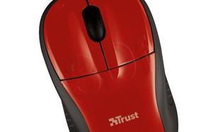 Trust Primo Mouse with mouse pad - red