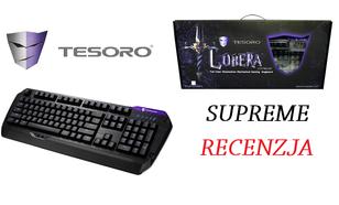 Tesoro Lobera Supreme - najwyższa wersja klawiatury z przełącznikami Kailh Brown