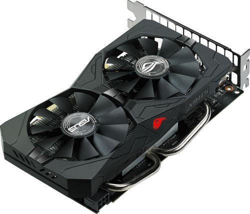 Asus Radeon RX 560 ROG STRIX O4G Gaming 4GB GDDR5 (128 bit), DVI-D, HDMI, DisplayPort, BOX (ROG-STRIX-RX560-O4G-GAMING)