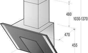 Gorenje Okap kominowy DVG8545W