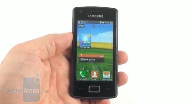 Samsung Wave 578 - prezentacja telefonu