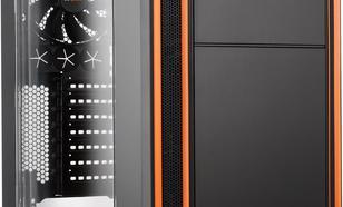 be quiet! SILENT BASE 800 Window czarno pomarańczowy (BGW01)