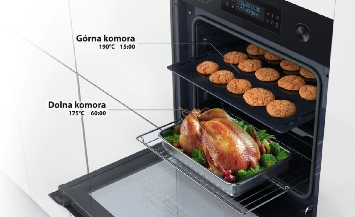 Komory Samsung Dual Cook NV70M3541RB