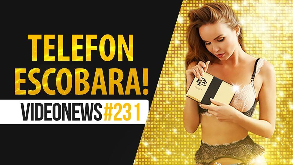 Telefon Escobara, polski sklep bez kas, Chińczycy z problemami - VideoNews #231