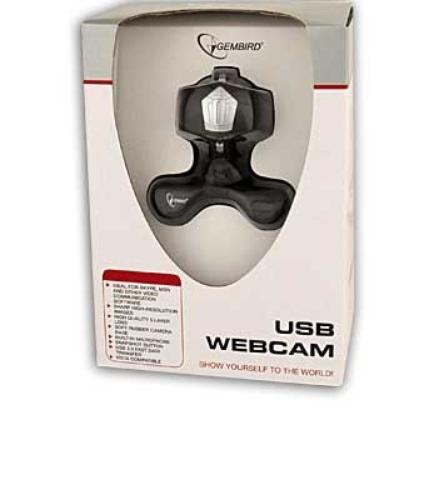 GEMBIRD Kamera Internetowa 1.3Mpix z mikrofonem CAM67U