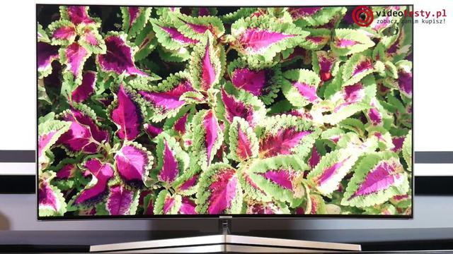 Samsung UE55MU9002 jakość kolorów