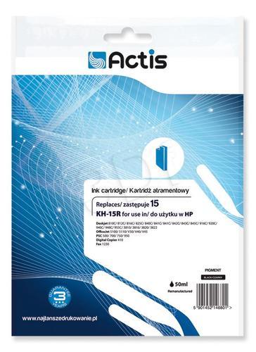 Actis KH-15R tusz czarny do drukarki HP (zamiennik HP 15 C6615N) Standard