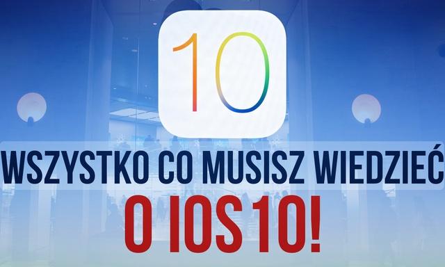 iOS 10 – Najważniejsze Funkcje, Data Premiery, Wszystko co Musisz Wiedzieć!