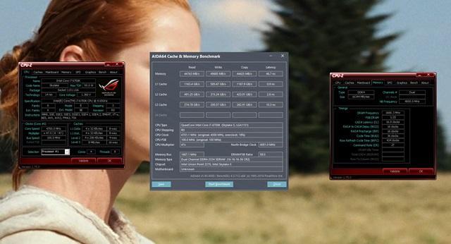 MSI Z270 Gaming Pro Carbon OC pamięci i procesora