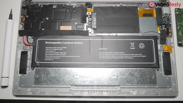 Kiano SlimNote 15,6 HDD bateria