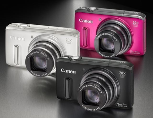 Przeżyj niesamowitą przygodę z aparatami Canon PowerShot SX260 HS i PowerShot SX240 HS