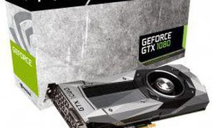 PNY Technologies GeForce GTX 1080 Founders Edition 8GB GDDR5X (256 bit) HDMI, DVI-D, 3x DP, BOX (GF1080GTX8GEPB)