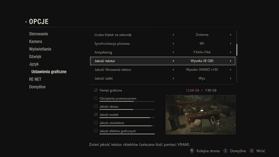 Resident Evil 2 - Czas zmienić kartę graficzną...