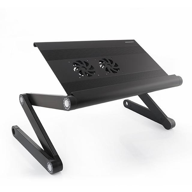 Aluminiowy stolik pod laptopa MODECOM MC-PF12 – czas zmienić pozycję na lepszą