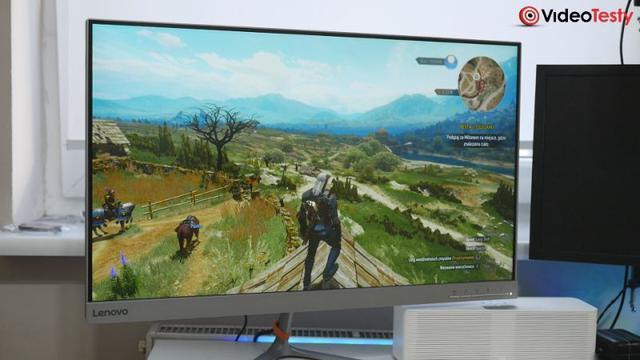 Test monitora w grach Lenovo L27q-10