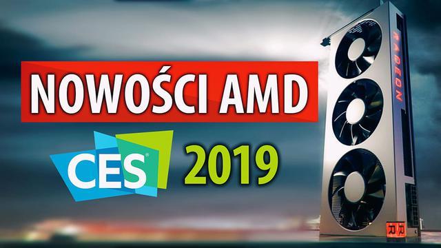 AMD Radeon VII, Ryzen 3.  Generacji i Epyc 2. Generacji – nowości na CES 2019