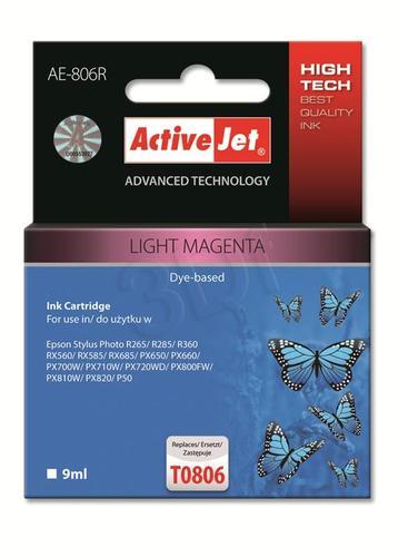 ActiveJet AE-806R tusz light magenta do drukarki Epson (zamiennik Epson T0806) Premium